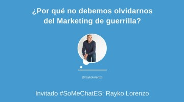 Marketing de guerrilla: Todo lo que debes saber – Twitter chat