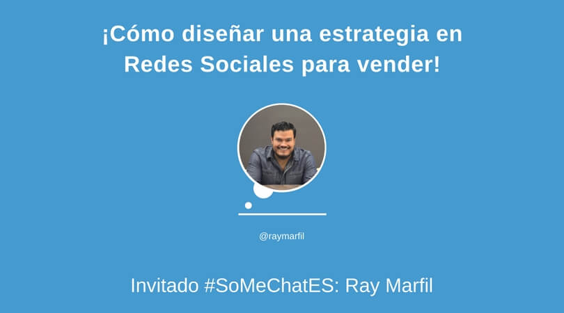 Redes sociales para vender Twitter chat Ray Marfil