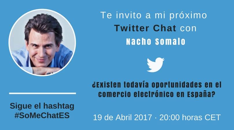 Ecommerce en España Twitter chat Nacho Somalo