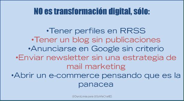 Transformación digital de las empresas cita