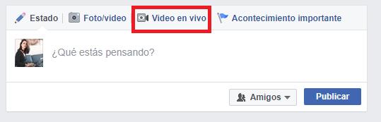 Qué es Facebook live - vídeo en vivo