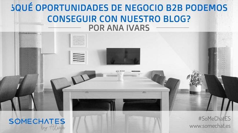 Oportunidades de negocio B2B