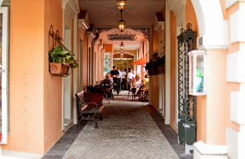 Naples if full of colorful nooks and paths.