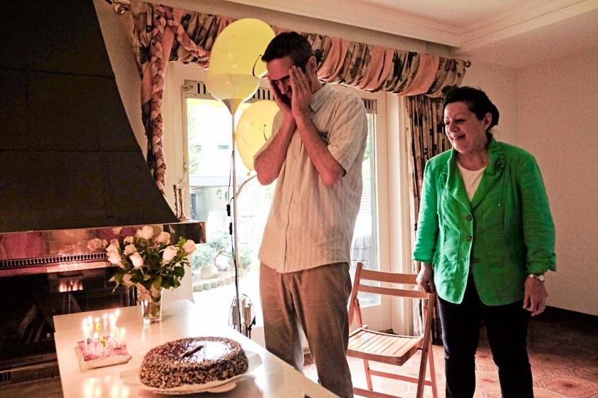 Raimer's birthday.