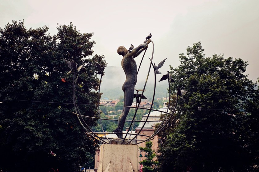 Sarajevo Statue