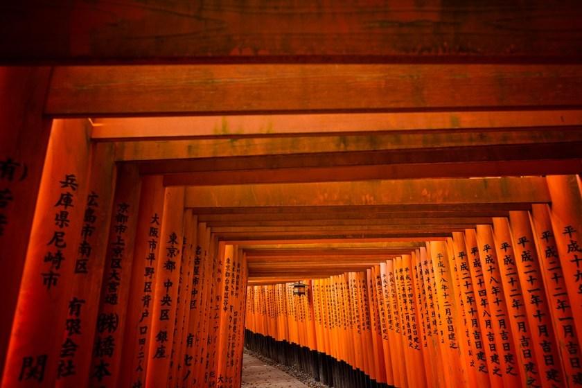 Torii Gates in Kyoto