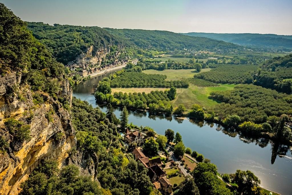 Valley view at Marqueyssac