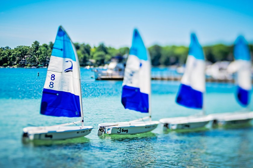 Sailboats in Habor Springs