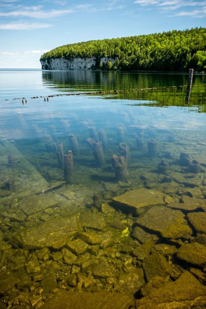 Fayette Historic State Park Limestone Cliffs