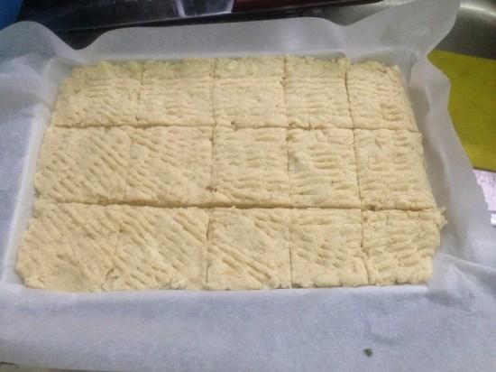Pre-Oven Shortbread