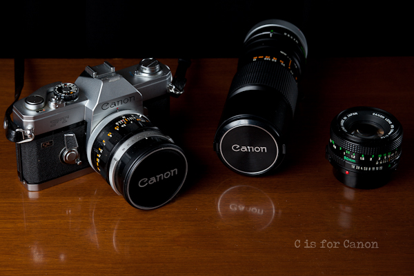 C is for Canon