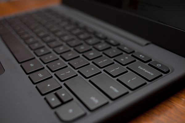 Google Chrome laptop keyboard