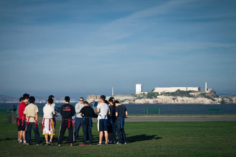Flag Football and Alcatraz