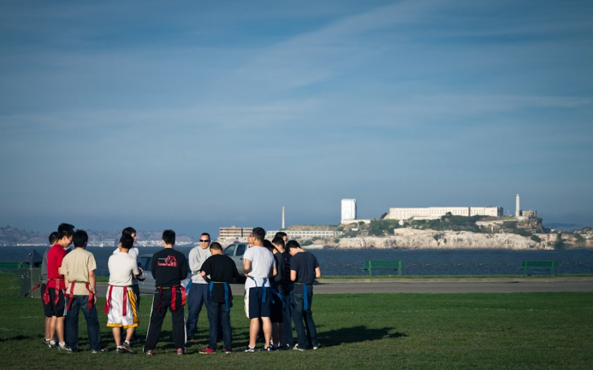 Flag Football and Alcatraz