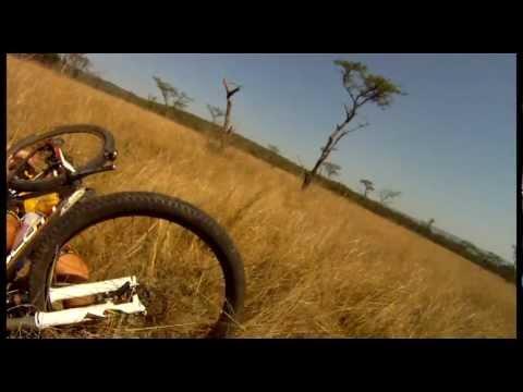 Mountain Biker vs. Antelope