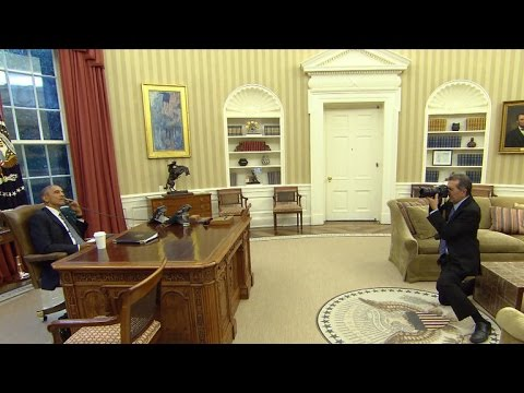 White House photographer Pete Souza