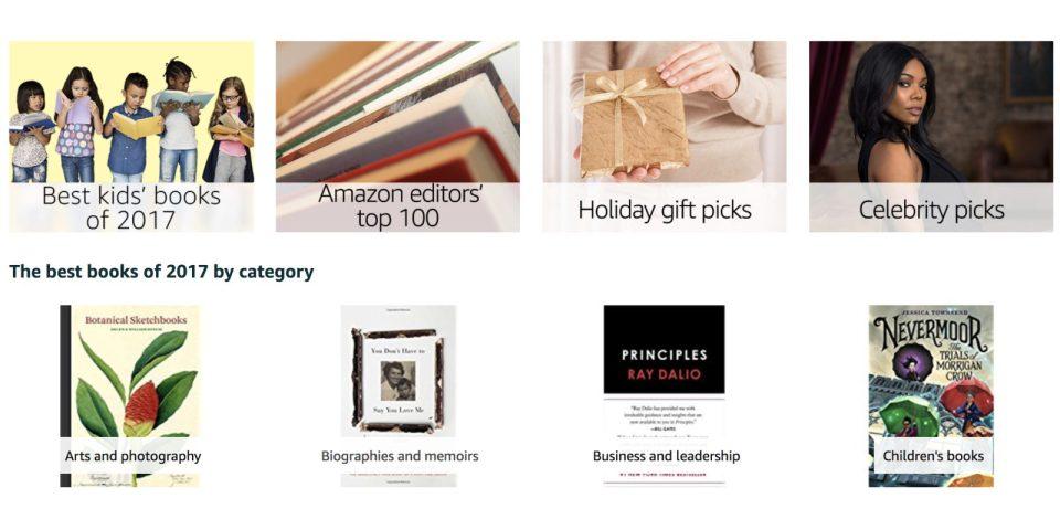 Amazon's Best Books of 2017