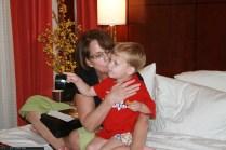 Mimi hugs her three year old Jack!