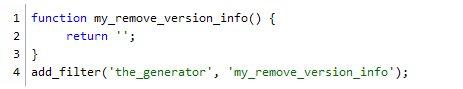 Способ сокрытия версии вордперсс в RSS cообщениях
