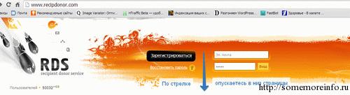 Сайт плагина RDS bar