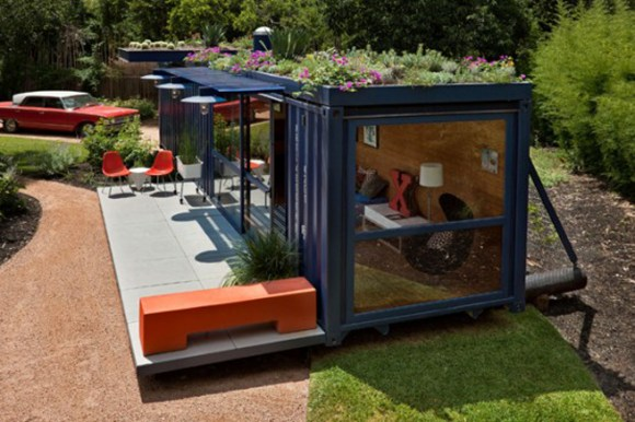 tasteful design for container house