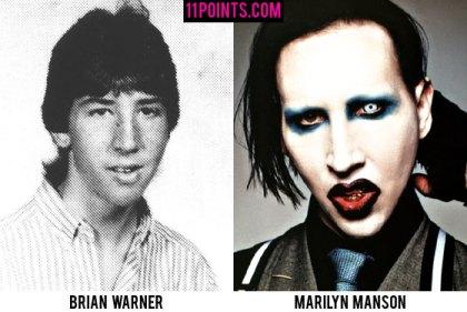 Marilyn Manson jovem