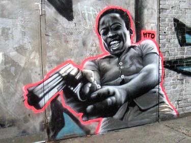 MTO (Graffiti Street art): Cidade de deus