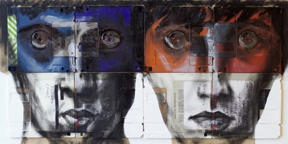Arte em disquete
