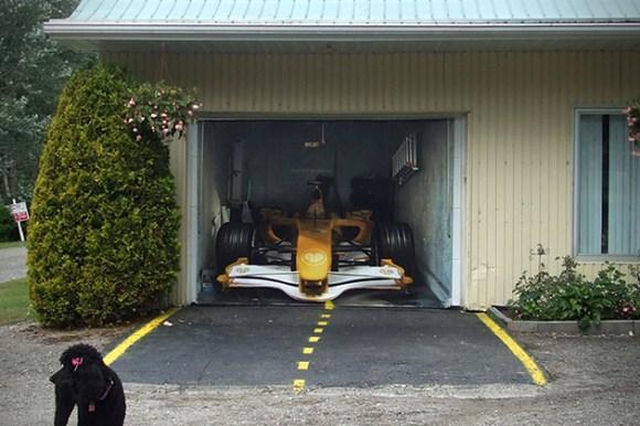 Adesivo garagem 11