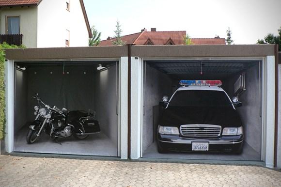 Adesivo garagem 12