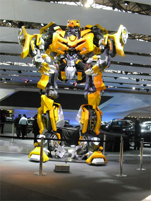 Transformers: Chevrolet Camaro