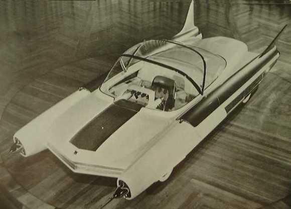 Carro do futuro no passado