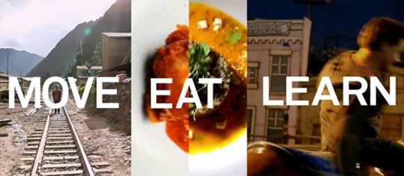 Move Learn Eat - 3 vídeos, 3 amigos, 11 países e 44 dias