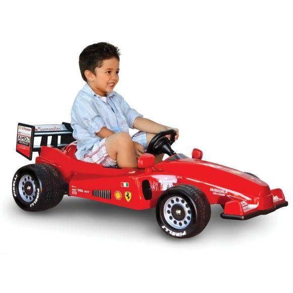 Fórmula 1 infantil mini Ferrari