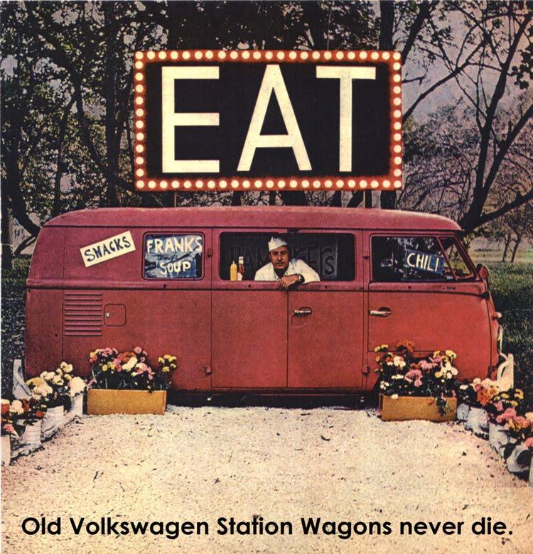 Cartaz Volkswagen Kombi