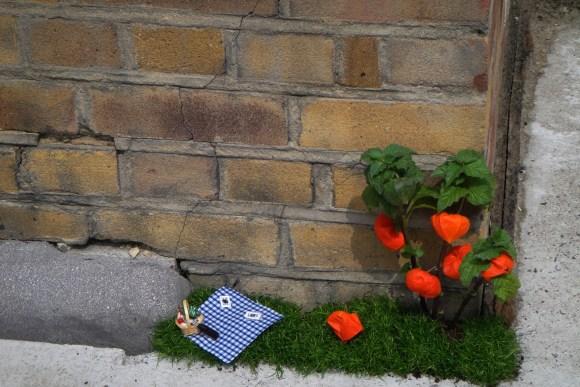 Mini jardim picnic