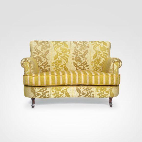 Móveis retrô - sofá 2 lugares