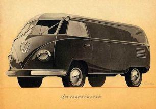 Volkswagen Kombi antiga