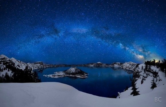 craterlake_milky_way