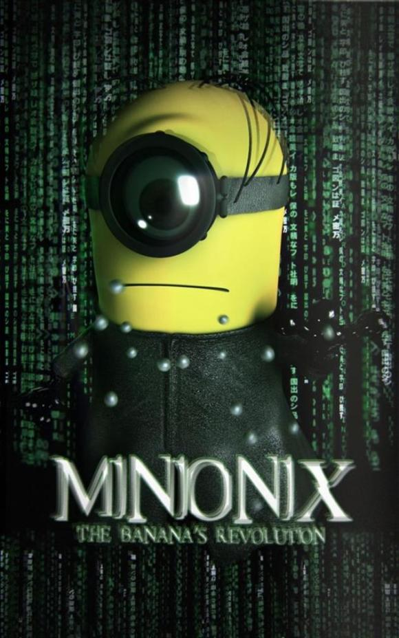 Minions fantasiados - Matrix
