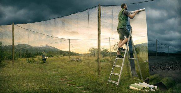 Artista cria ilusões gráficas impressionantes