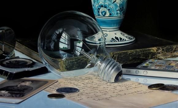 Pinturas hiper-realistas de Jason de Graaf 1