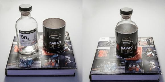 garrafa + latinha