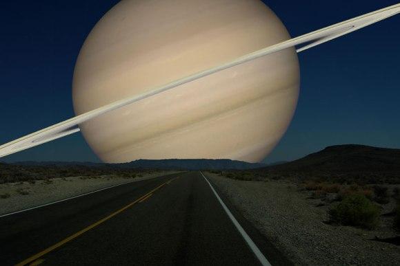 Diâmetro de Saturno: 116,464 km
