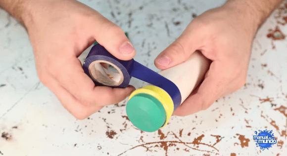 como fazer uma vuvuzela