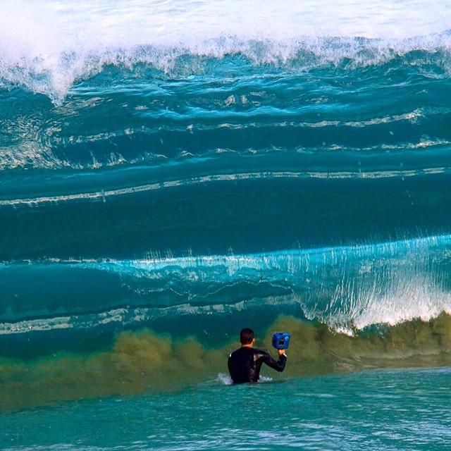 Ondas no Havaí (fotógrafo 2)