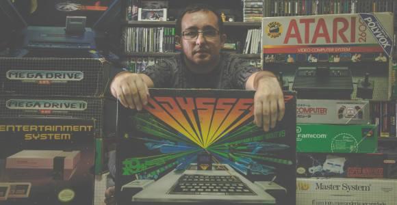 Os mais velhos vão chorar: fotógrafo registra a relação entre colecionadores e videogames antigos