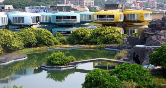 Cidades abandonadas - Sanzhi Pod (5)