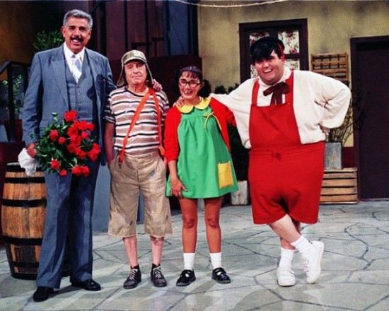 Fotos raras - Chaves e Chapolin (11)