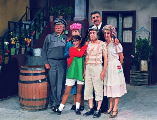 Fotos raras - Chaves e Chapolin (17)